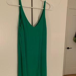 Kelly green topshop dress